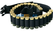 Hunting 25 Round Shotgun Shell Belt Carrying waist bag Shotgun shells Ammo Pouch