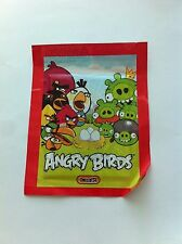 Sealed Packet of Angry Birds Stickers Red