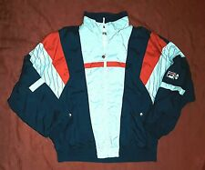 VINTAGE 80's 90's FILA TRACKTOP SIZE 52/L J XXL USA 42 FONT IV MADE IN MALAYSIA