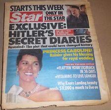 Star 5/17/1983 Hitler Diaries, Princess Caroline, Michele Lee, Gregory Harrison