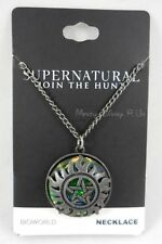 New Supernatural Anti-Possession Symbol Galaxy Pendant Charm Necklace