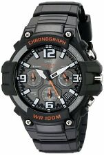 Casio MCW-100H-1A Analog Mens Watch Chronograph Heavy Duty 100M WR MCW-100 Diver