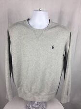 Men's Vintage Polo Ralph Lauren Gray Crewneck Sweatshirt Size Large