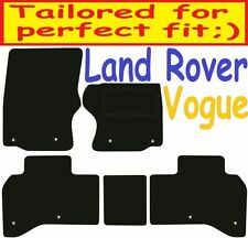 Land Rover Range Rover Vogue DELUXE QUALITY Tailored mats 2012 2013 2014 2015 20