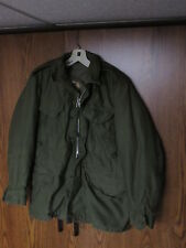 US Army M-1951 Vintage Military Field Jacket small short KOREAN WAR LINER HOOD