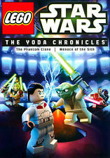 LEGO Star Wars THE YODA CHRONICLES DVD (The Phantom Clone & Menace of the Sith),