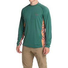 Simms Solarflex Crew Neck Artist Series Long Sleeve XL Shirt - UPF 50+ NEW!
