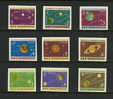 Albania 1964  #777-85  space planets  IMPERF  9v.  MNH  I672