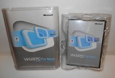 Microsoft Virtual PC for Mac Version 7 With Windows XP Professional 3 CD's Keys