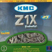 KMC vélo électrique Collier Z1X EcoProTeQ 128 Maillons Moyeu de transmission