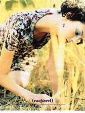 PUBLICITE ADVERTISING 094  1998  CACHAREL  pret à porter femme