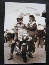 Photo Parisienne Honda NSR250 #7 Jacques Cornu (SUI) Sweden Anderstorp 1987 #1