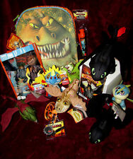 Huge How to Train Your Dragon Plush Lot & More~Backpack,7 Plush,Lanyard,More NEW