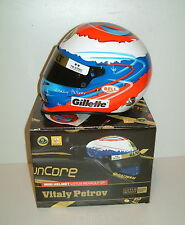 Vitaly petrov, 200/11 casque gillete échelle 1/2 neuf renault F1 bell