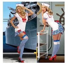 Women Sexy Naughty Navy Sailor Army Costume Uniform Princess Girl Cosplay Dress