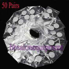 50 Pairs Self Stick Microcurrent TENS EMS Replacement Pad Toning Face Body Slim