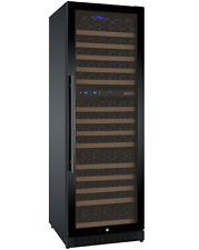 Allavino 172 Bottle Built-In Commercial Wine Cooler Refrigerator Dual Zone Black