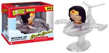 FUNKO DORBZ RIDEZ DC COMICS WONDER WOMAN & INVISIBLE JET FIGURE & RIDE BRAND NEW