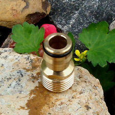 "Water Pipe Connector Brass Hose Quick 1/2"" Outer Threaded Brass Tap Adaptor Male"