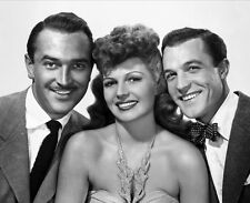 Gene Kelly, Lee Bowman and Rita Hayworth UNSIGNED photo - B2282 - Cover Girl