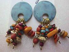 80's Pierced Earrings