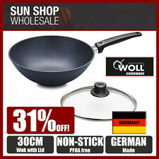 WOLL Saphir Lite 30cm Non-stick Wok with Lid! Made in Germany! RRP $289.00!