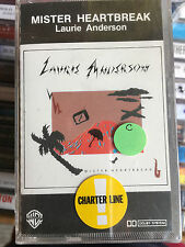 MC  Sealed!!   ITALY  LAURIE ANDERSON - MISTER HEARTBREAK   ((( NO LP CD