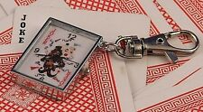 Poker Style Keychain Watch Joker FREE POST!!