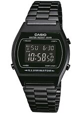 Casio collection black steel NEW SEASON UNISEX B640WB-1BEF WATCH orologio montre