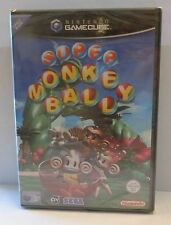 Console Gioco Game NINTENDO GAMECUBE Play PAL ITALIANO SUPER MONKEY BALL ITA Blù