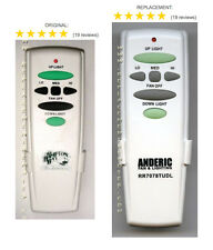 Hampton Bay Replacement Fan Remote control for UC7078T with Up & Down lights