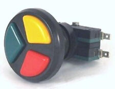 3-1 ARCADE PUSH BUTTON  WITH MICRO SWITCHES - GREAT FOR SMALL PLACES