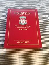 04-05 Champions League Liverpool size L Limited Edition Box Set Ultra Rare!!!!!