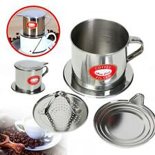 Brand New Stainless Steel Coffee Drip Filter Cup Maker Infuser Handle Hot LCF