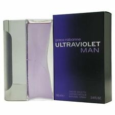 ULTRAVIOLET MAN BY PACO RABANNE 3.4 OZ EAU DE TOILETTE SPRAY FOR MEN NIB SEALED