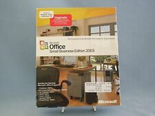 Microsoft Office Small Business Edition 2003 Upgrade Book Service Pack 2
