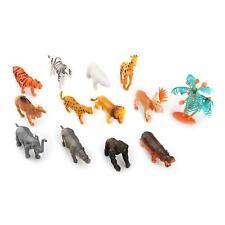 Ensemble 12 Animaux Sauvages Figurines Figures PVC Jouet pour Enfant