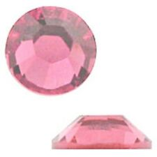 Swarovski Crystal Flatback SS7 Rose Color 2.2mm. Approx.144 PCS. 2058