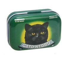 Pillendose Blechdose Nostalgie Katze Gato Negro Manzanas de Rio Negro Nr. 78