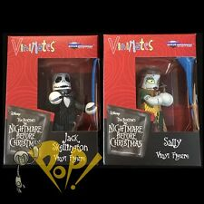 NBX Nightmare Before Christmas JACK & SALLY Vinimate Figure SET Minimates DST!
