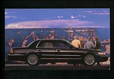 Car Auto Advertising postcard 1998 Mercury Grand Marquis