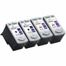 4pk Canon PG-40 CL-41 ink cartridge Combo For PIXMA MP140 MP150 MP160 Printer