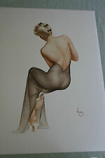 Vargas November 1944 Tone Lithograph Mint Limited Signed Shipping Included