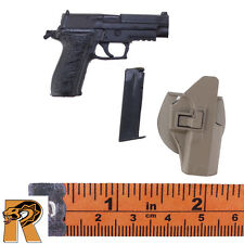Abbas Ghar SEAL - SIG Pistol w/ Holster - 1/6 Scale - Mini Times Action Figures