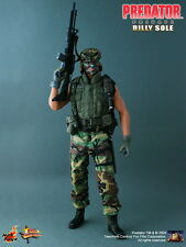 HOT TOYS 1/6 PREDATOR MMS73 PRIVATE BILLY SOLE MOVIE MASTERPIECE ACTION FIGURE A