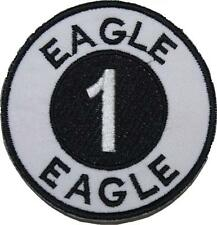 Space 1999 Alpha Moonbase Eagle 1 Embroidered Patch Badge Sew/Iron-on 9cm