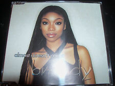 Brandy Almost Doesn't Count Rare Australian 5 Track CD Single With Remixes