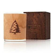 Thymes Frasier Fir Northwoods Wooden Wick Candle 9.5 oz