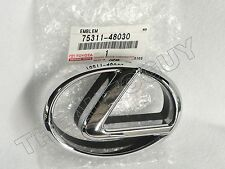 2001 2002 2003 GENUINE LEXUS CHROME RX300 FRONT GRILL EMBLEM-NEW 75311-48030