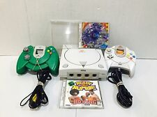 Sega Dreamcast White Console (NTSC) HKT-3020 Marvel vs Capcom Bundle!!!